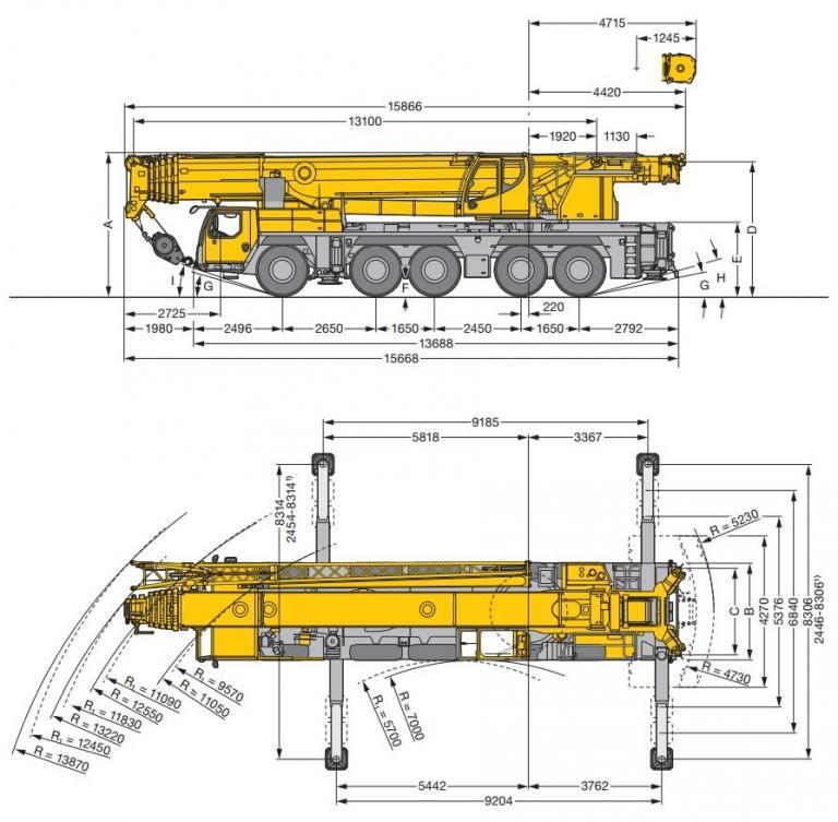 Автокран Либхер 160 тонн