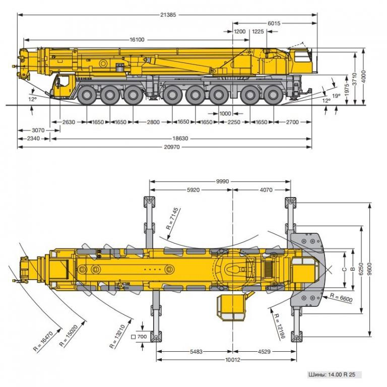 Liebherr кран 500 тонн